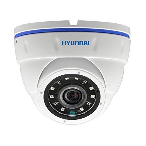 Hyundai Security - Hyundai 5 MP 4 en 1 Domo 3.6mm cámara de Video vigilancia IR - HYU-464