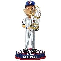"FOCO MLB Chicago Cubs Jon Lester Lester J. #34 (2016 Edition) World Series Champions 8"" Bobble"