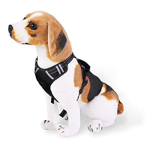 No Pull hondenharnas duurzaam hondenharnas voor buiten Zachte, gevoerde lijn No Pull hondenharnas met handvat en nauwe greep voor kleine, middelgrote en grote honden
