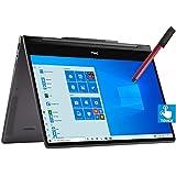 "Dell Inspiron 13 7000 2-in-1 13.3"" 4K UHD Touchscreen Laptop Computer, 10th Gen Intel Quard-Core i7-10510U, 16GB RAM, 1TB PCIe SSD, WiFi 6, Windows 10, BROAGE 64GB Flash Stylus, Online Class Ready"