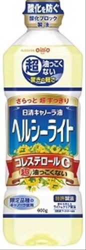 日清オイリオ キャノーラ油 ヘルシーライト ボトル600g