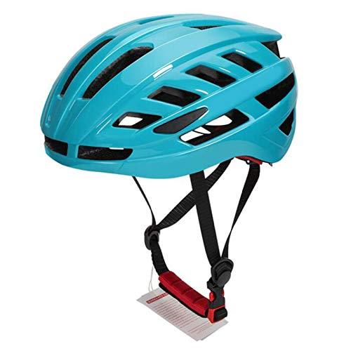 Casco Bicicleta Yuan Ou Casco de Bicicleta Ultraligero MTB Bike Safety Cap Mountain Road Sport Casco de Ciclismo especializado Azul