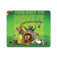 マダガスカル マウスパッド/アニメマンガゲームマウスパッド/パーソナルコンピュータノートブックオフィスホームマウスパッド/防水滑り止め耐久性マウスパッド幅25×縦30cm