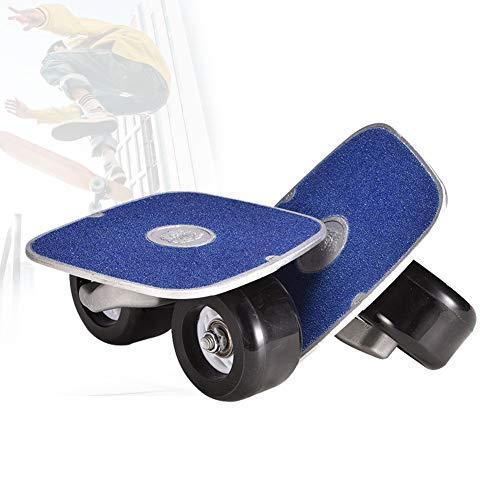Grist CC Outdoor-Freeline Roller Skates, Split Skateboard Reise Pinsel Straße PU-Rollen Und 70 Mm * 42 Mm PU Räder ABEC-7 Lager Erwachsene Kinder,Blau