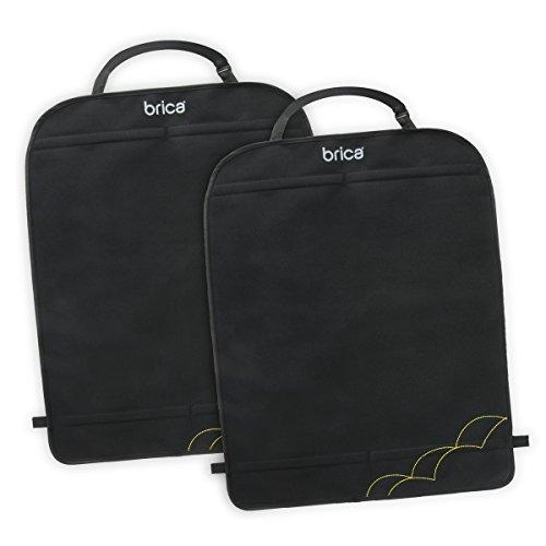 Brica by Munchkin Protectores de asientos Deluxe Kick Mats, protegen ante rayaduras, humedad y suciedad