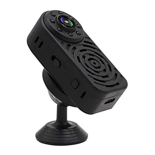 Prettyia Mini Cámara Inalámbrica Wifi 1080P Detección de Movimiento para La Oficina de Niñera