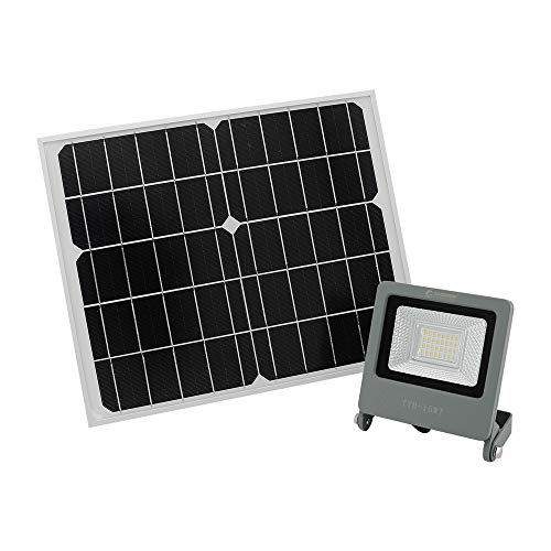 グッドグッズ(GOODGOODS) LED ソーラーライト 15W 屋外 防水 ソーラー投光器 ガーデンライト 分離式 夜自動点灯 庭園灯/玄関/廊下/駐車場 TYH-15WT