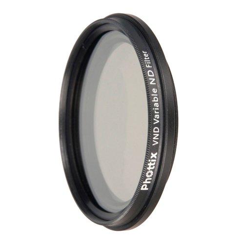 Phottix ND-V 52 - Filtro Densidad Neutra Variable para Objetivos de cámara de 52 mm