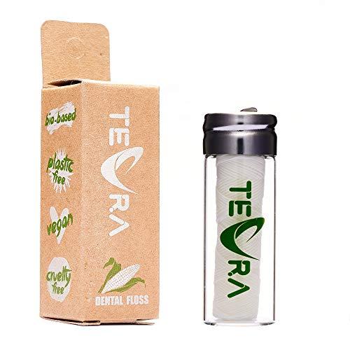 Vegan Dental Floss by TEVRA – Natural Dental Floss – Mint and Ginger...