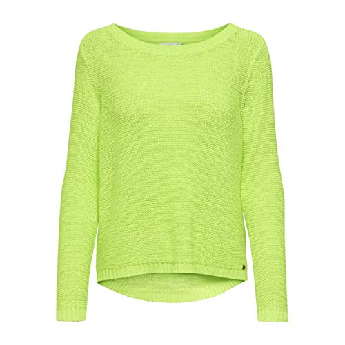 ALLEEN Dames Onlgeena L/S Neon Pullover Knt Sweater