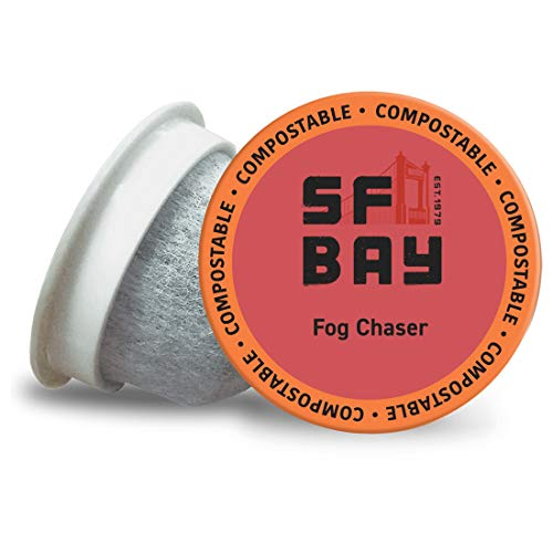 San Francisco Bay OneCup, Fog Chaser, Single Serve Coffee K-Cup Pods