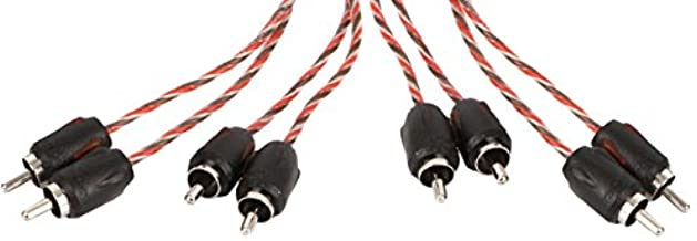 Stinger SI4617 RCA Interconnect Audio Cable 6 Channels 17 ft 4000 Series Stereo