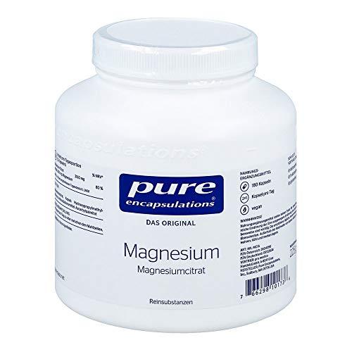 pure encapsulations Magnesium Magnesiumcitrat Kapseln, 180 St. Kapseln