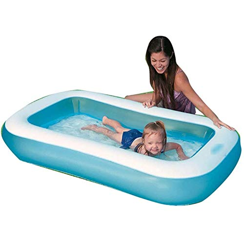 Qazxsw Piscina Inflable para niños/Cubo de natación Engrosado/Juego de la Familia y Piscina de baño/Suave y a Prueba de Golpes