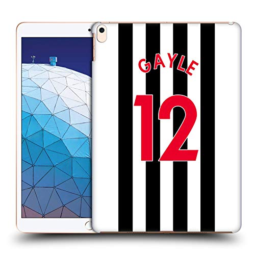 Official Newcastle United FC NUFC Dwight Gayle 2020/21 Players Home Kit Group 2 Hard Back Case Compatible for Apple iPad Air (2019)