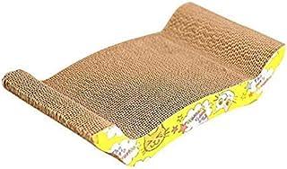 Mumoo Bear Pet Cat Kitten Corrugated Scratch Board Pad Scratcher Bed Mat Claws Care Toy FUN