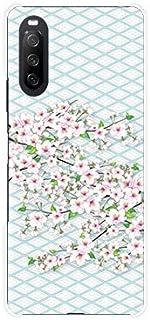 スマホケース XPERIA 10 III Lite エクスペリア テン マークスリー ライト 対応 楽天モバイル TPU ソフト カバー ケース 和風桜