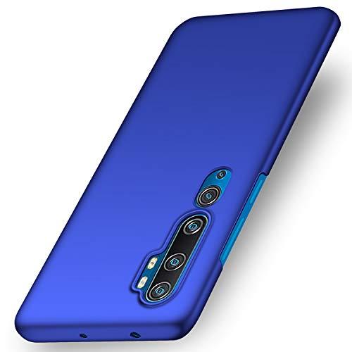 anccer Kompatibel mit Xiaomi Mi Note 10 Hülle, Xiaomi Mi Note 10 Pro Hülle, Xiaomi Mi CC9 Pro Hülle [Serie Matte] Elastische Schockabsorption & Ultra Thin Design (Glattes Blau)