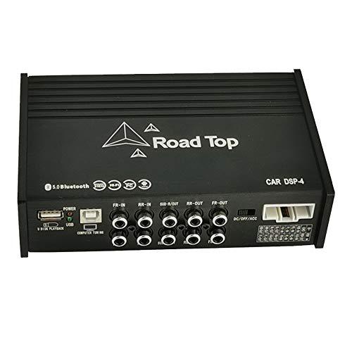 Road Top 4 Input & 6 Output Geluidskanalen 31 EQ Audio Processor voor Benz met versterker/Bluetooth/HIFI Geluidskwaliteit