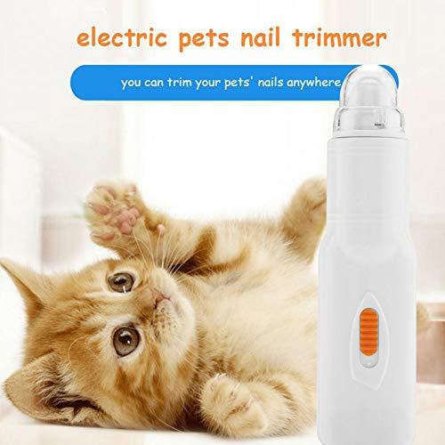 Alician Thuis huisdier nagel slijper elektrische nagels Verzorging gereedschap huisdier nagel vijl poten slijpen Clipper Trimmer