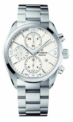 Eterna Men's 1240.41.63.0219 Kontiki Stainless steel Chronograph Watch