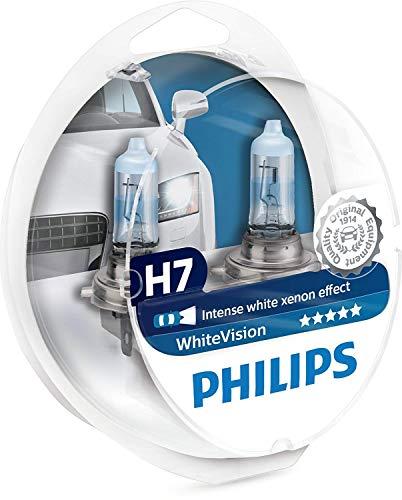 Philips 12972WHVSM WhiteVision Lámpara Halógena, 60% más de Luz, 4300K