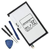 Civhomy Replacement EB-BT330FBU Tablet Battery for Samsung Galaxy Tab 4 8.0 EB-BT330FBE SM-T330 T331 T335 T337 T337A SM-T337 SM-T337V SM-T330NU EB-BT330FBC 3.8V 4450mAh