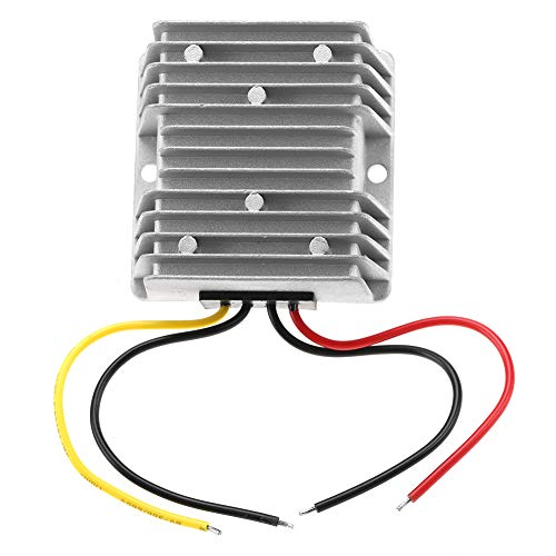 Regulador convertidor de voltios para vehículos, regulador convertidor CC-CC de 12 V a 24 V, fuente de alimentación elevadora de alta eficiencia, 10 A, 240 W para robots, paneles fotovoltaicos