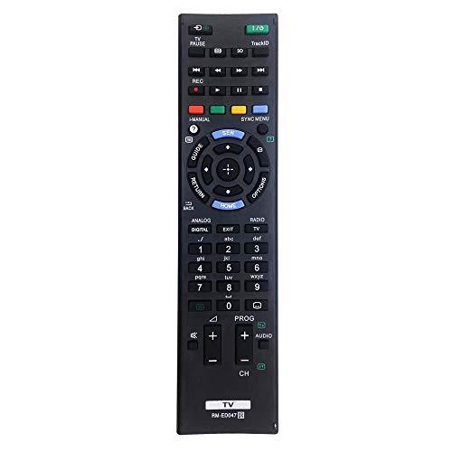 MYHGRC RM-ED047 Universal-Fernbedienung für Sony TV-Fernbedienung für Sony Bravia Smart TV LCD LED RMT-TX100D KD-43X8301C RM-ED050 RMT-TX102U – keine Einrichtung erforderlich