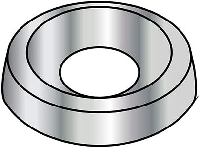 6 Countersunk Finishing Branded goods Washer Online limited product Nickel Pack 10 BC-06WC Qty 000