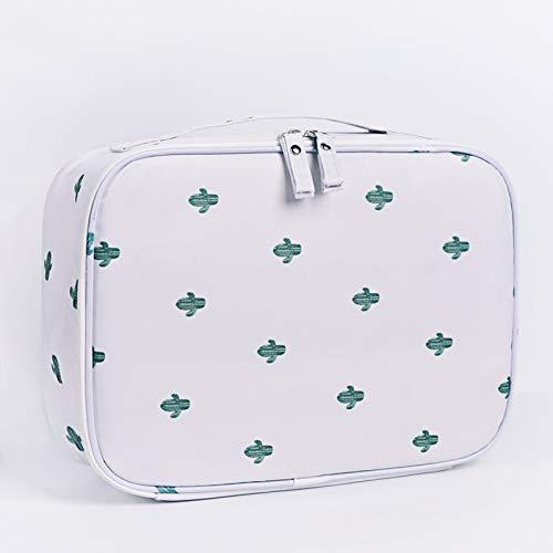 Sac cosmétique beauté sac cosmétique hommes et femmes voyage sac de lavage grande capacité sac de rangement imperméable à l'eau simple portable sac cosmétique 24 * 18 * 9CM A5