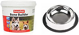 Beaphar Pet Bone Builder with Feeding Bowel (500 g)