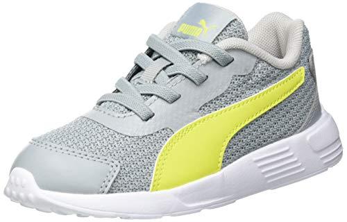 Puma Taper AC INF, Zapatillas, Quarry/Nrgy Yellow/Gray Violet, 26 EU
