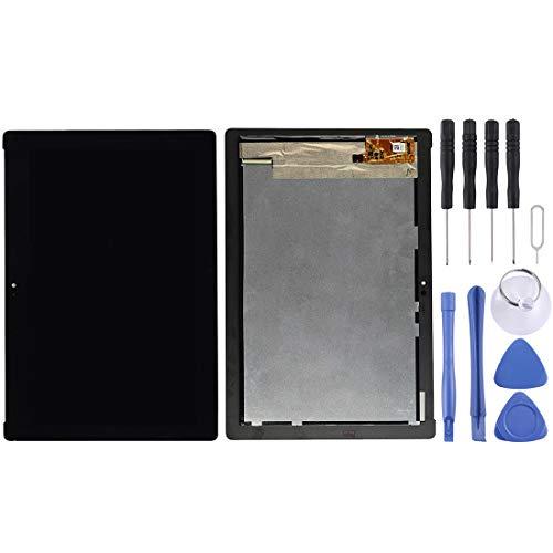 un known Pantalla LCD y digitalizador Conjunto Completo para ASUS ZENPAD 10 Z300C / Z300CG / Z300CL / Z300CNL / P023 / P01T (Versión de Cable de Flex Flex) Accesorio Mantenimiento (Color : Black)
