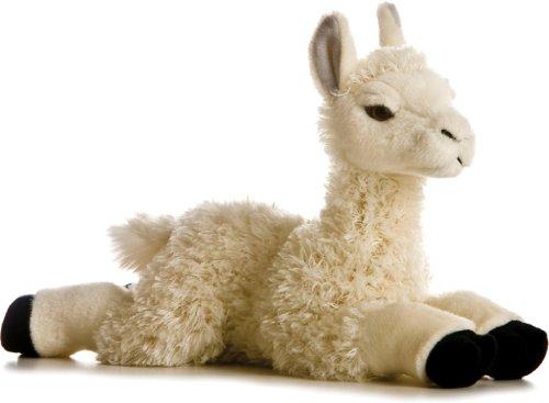 Aurora, Lama en Peluche, 12281E, 17,8 cm