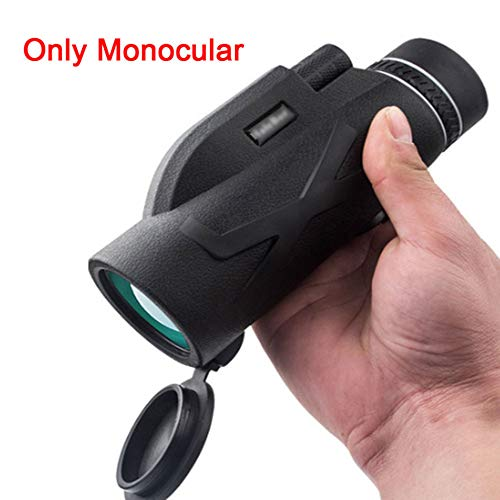 Powerful Telescopes 80X100 Night Vision Monocular Zoom Optical Spyglass Monocle for Tourism Sniper Spotting Scope,M