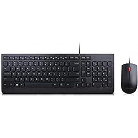 Lenovo - Teclado y ratón con Cable, versión Inglesa: Amazon ...