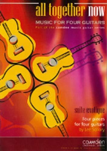 Suite exotique : pour 4 guitarespartition
