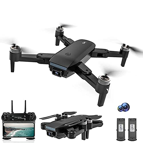 GZTYLQQ Drone SG700MAX, cámara WiFi 4K HD, Drones de fotografía aérea Profesional, Motor sin escobillas, Quadcopter Plegable, Juguetes