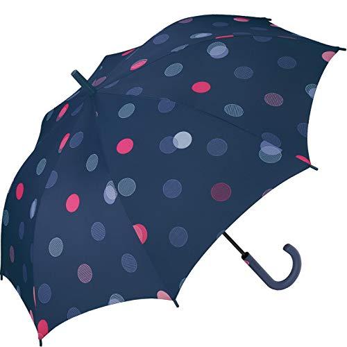 Esprit paraplu met automatische E-Motional Dots Sailer Blue