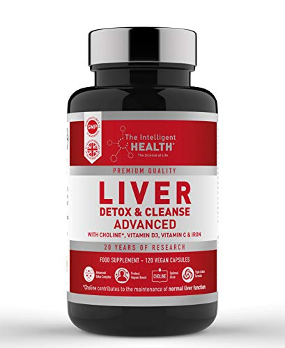 Liver Detox & Cleanse Advance Support Capsules - Containing 15 Natural...