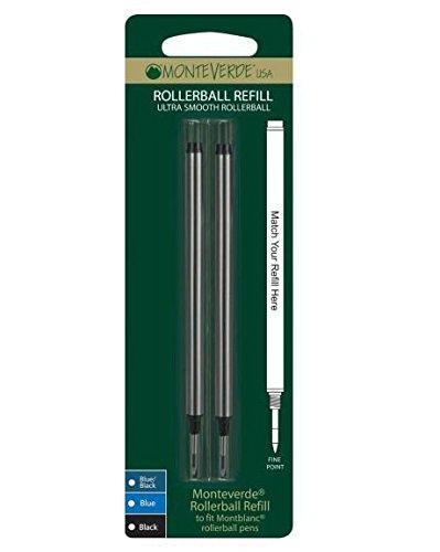 Tipo de producto: Recambio para bolígrafos y plumas Compatibilidad: Montblanc Color de la tinta: negro Tipo de punta: fino
