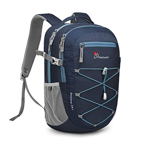 MOUNTAINTOP 22 Liter Rucksäcke Damen Herren Backpack Wanderrucksack Trekkingrucksack Outdoorrucksack Daypacks (Saphir Himmelblau)
