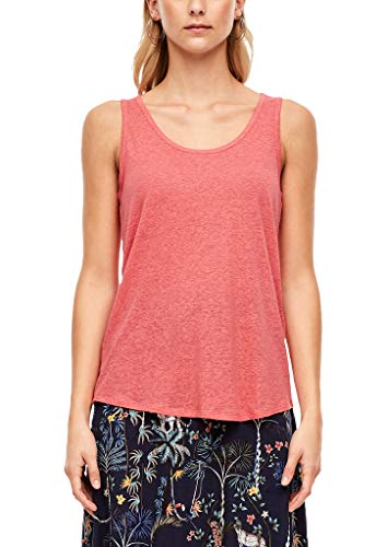 s.Oliver Top Camiseta, 4510 Coral Red, 44 para Mujer