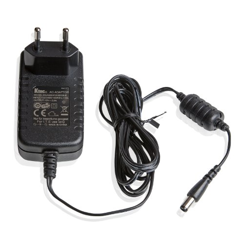 Ktec Universal AC DC Netzteil 12V 2A (2000mA) Ktec AC Adapter - Stromadapter & Stromkabel für Externe Festplatten-Gehäuse, Dockingstation UVM, 183cm