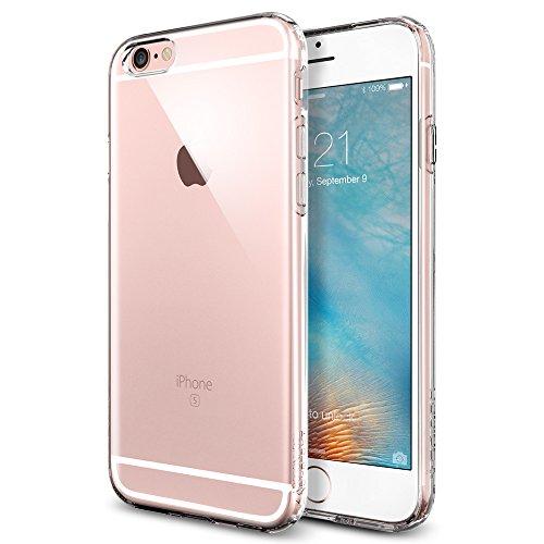 Spigen Capsule - Funda iPhone 6s, Carcasa Durable Flex y diseño Easy Grip, Transparente
