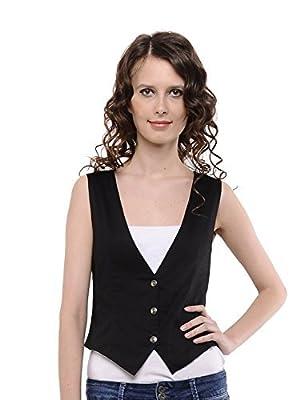 cottinfab Women's Waist Coat (XXL)