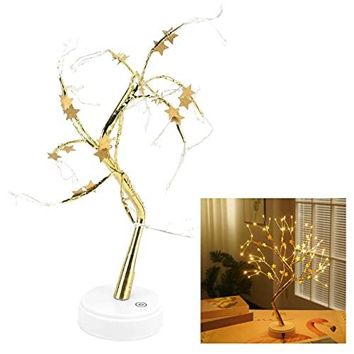 Lámpara de árbol bonsái, luz LED Ramas flexibles Fácil de instalar 72Leds 100Lm Brillo para bares Restaurantes Dormitorios Oficinas para festivales Bodas Fiestas
