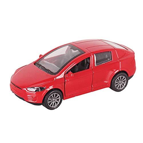 1:32 para Modelo X Aleación Modelo De Automóviles Diecasts & Toy Vehicles Toy Pull Back Cars Juguetes para Niños para Niños Regalos Chico Juguete (Color : 4)