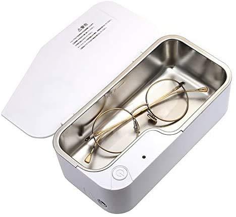HYLL Ultraschallreiniger, Profi-Ultraschall-Schmuck-Reiniger mit Timer, beweglichen Haushalt Ultraschall-Reinigungs-Maschine, Brillen Prothesenreinigern
